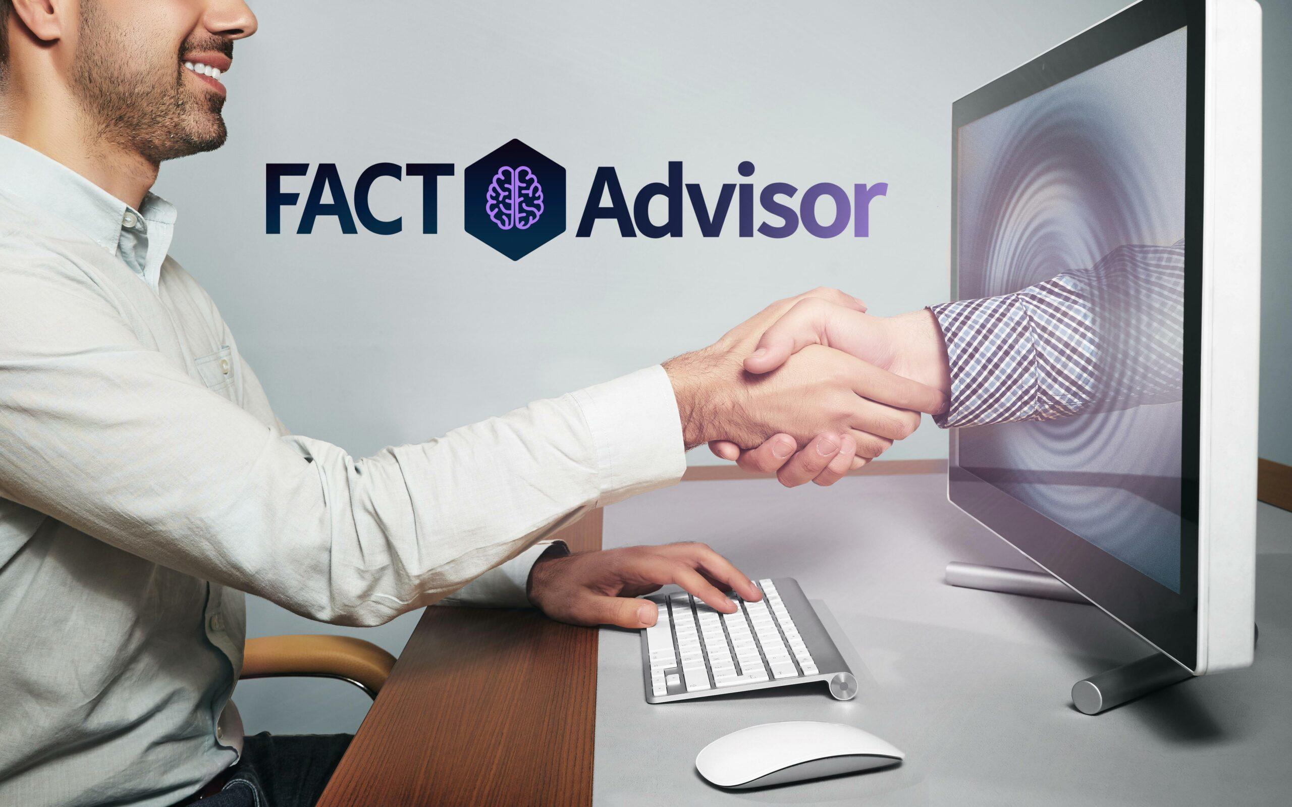 fact ai advisor künstliche intelligenz ki monitor handshake